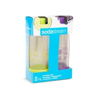 Soda Stream Carbonating Bottles 1L Summer Edition Set of 2 image