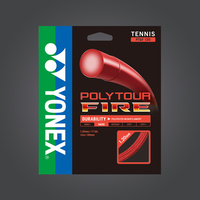 Yonex Poly Tour FIRE 120 Tennis String Red image