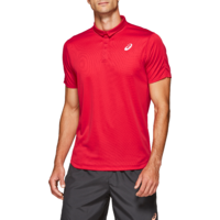 Asics Club Men's Polo Shirt Speed Red image