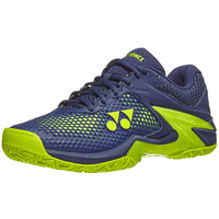 Yonex Power Cushion Eclipsion 2 Navy/Yellow Mens Shoe image