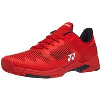 Yonex Power Cushion Sonicage 2 Clay Red Men's Shoes image