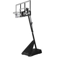 "Spalding 54"" Acrylic Hercules Portable Basketball System image"