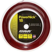 Ashaway Powernick 18/1.15mm - Red 110M Reel  image
