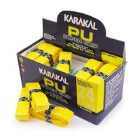 Karakal PU Super Grip Yellow - Box of 24 image