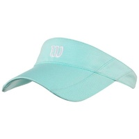 Wilson Rush Knit Ultralight Visor Aqua image