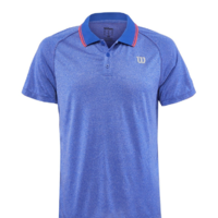 Wilson Men's Spring Core Polo Mazarine Blue image