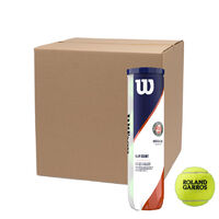 Wilson Roland Garros Clay Court 4 Ball Can 18 Can Case image