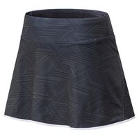 New Balance Women's Printed Rally Skort Black/White image