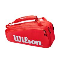 Wilson Super Tour 6R Bag Red image