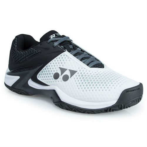 Yonex Power Cushion Eclipsion 2 White/Black Men's Shoe [Size: US 10]