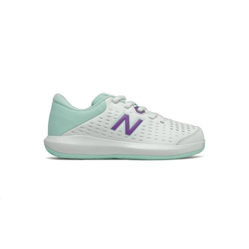 New Balance 696v4 White Junior Shoe