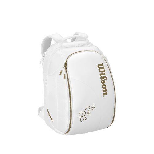 Wilson Federer DNA Backpack White/Gold Limited Edition
