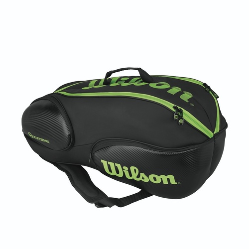 Wilson Vancouver 9 Pack Bag Black/Green
